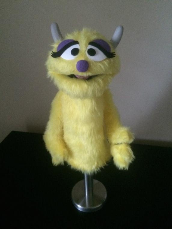 Muppet Professional Puppet Penelope Monster