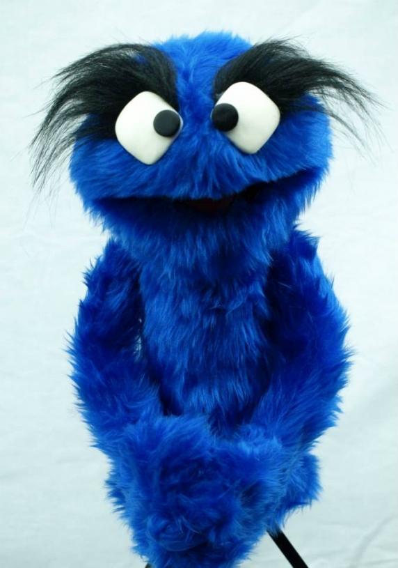 Muppet Muppet Professional Puppet PJ Monster - Royal