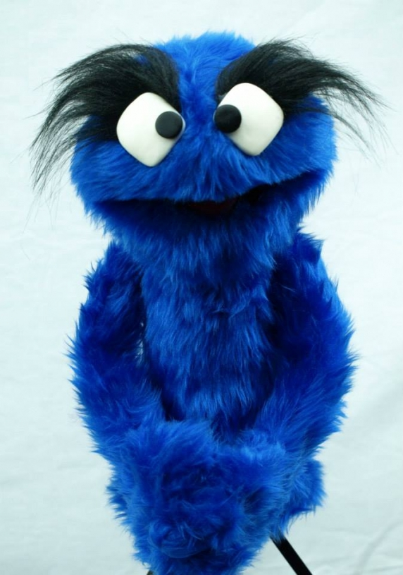 Muppet Muppet Professional Puppet PJ Monster - Royal