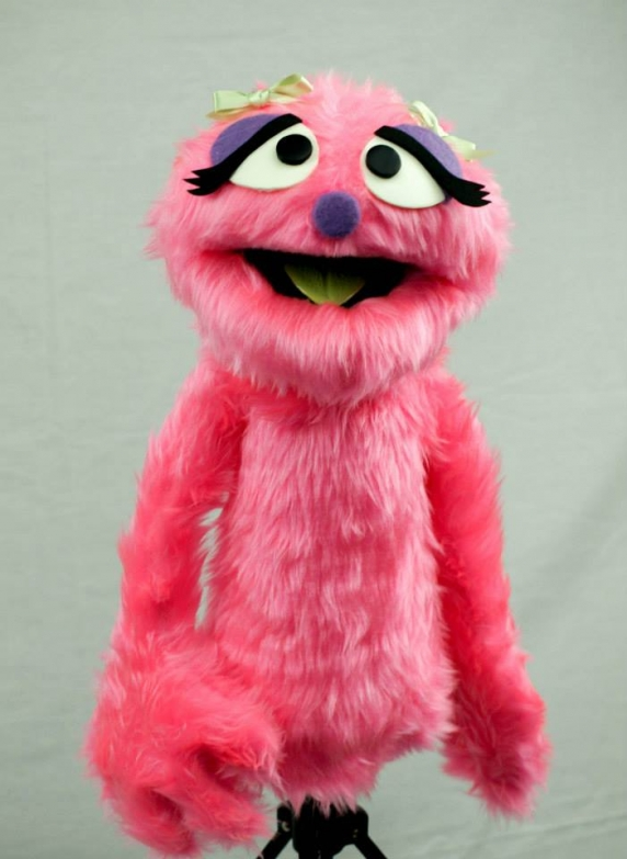 Muppet Professional Puppet Penelope Monster in Pink