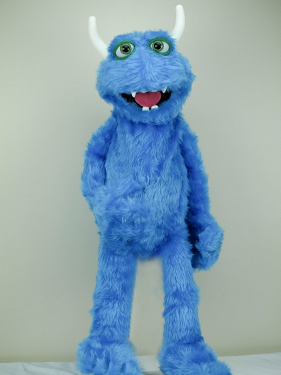 Professional Furry monster Muppet Puppet Eddie
