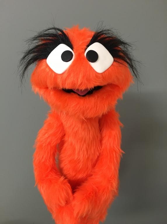 Muppet Muppet Professional Puppet PJ Monster - Orange