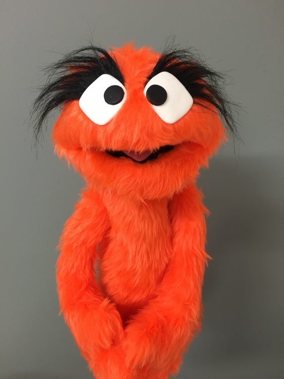Muppet Muppet Professional Puppet PJ Monster - Orange