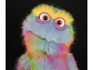 Professional Furry monster Muppet Puppet Brewster