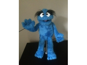 Muppet Muppet Professional Puppet PJ Monster - Light Blue