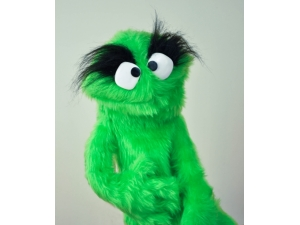 Muppet Muppet Professional Puppet PJ Monster - Green