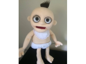 Zombie Baby Puppet Professional Rod Puppet