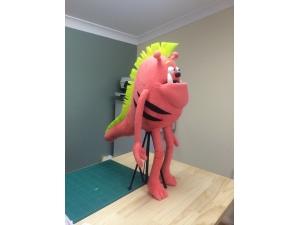 Custom Monster Professional Rod Puppet