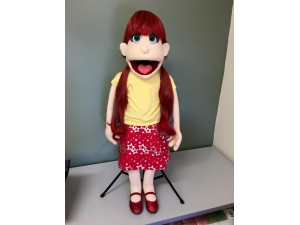 Professional Rod - Young Girl Puppet