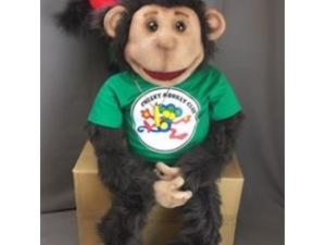 Custom Cheeky Monkey Puppet/Prop