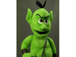 Custom Goblin Puppets