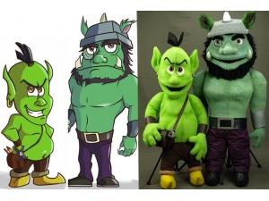 Custom Goblin Professional Rod Puppets