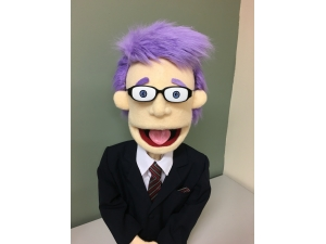 Custom Newsreader Puppet