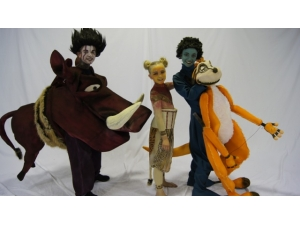 Lion King he Musical Simba, Pumba and Timon