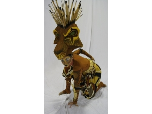 Lion King he Musical Scar Headress by The Puppet workshop
