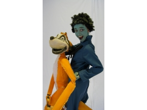 Lion King he Musical Timon Full body puppet  by The Puppet workshop