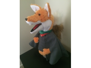 Basil Brush Custom Puppet