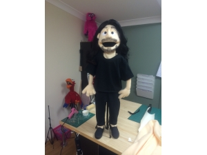 Custom Caricature Puppet