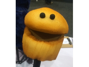 Talking Muffin Puppet