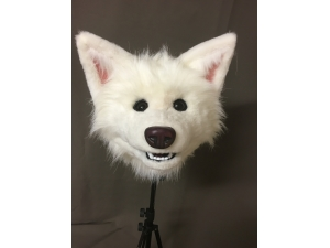 Custom Spitz Breed Dog Head Work in progress image