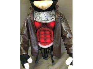 Marvel Gambit Caricature Puppet