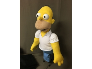 Custom Homer SImpson Puppet