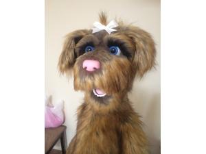 Custom Female/Girl Rufus Live Hand Puppet