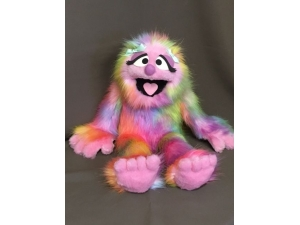 Pink Rainbow Penelope Full Body Puppet