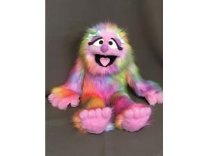 Pink Rainbow Penelope Full Body Puppet