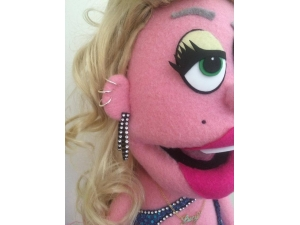 Lucy Avenue Q Professional Puppet