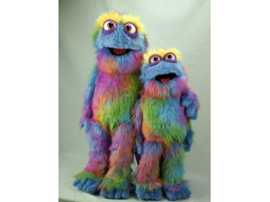 Brewster Professional monster rod muppet puppet