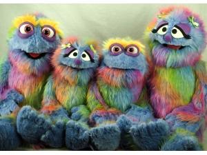 Custom Rainbow Monster Family
