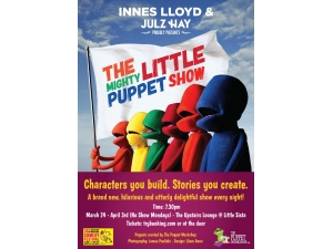 The Mighty Littles Puppet Show Poster