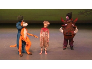 Lion King the Musical Timon & Pumba Puppets